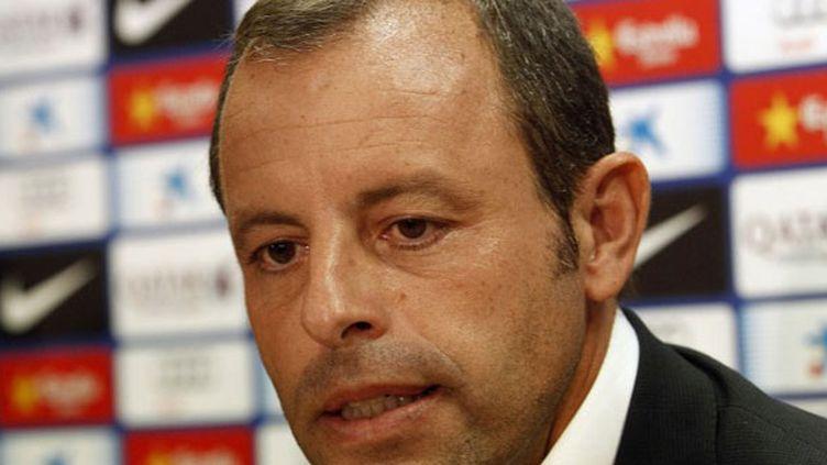 Le président du FC Barcelone, Sandro Rosell