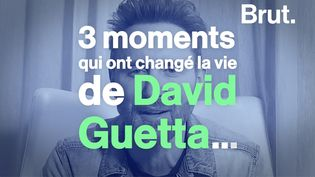 VIDEO. Les moments qui ont changé la vie de David Guetta (BRUT)