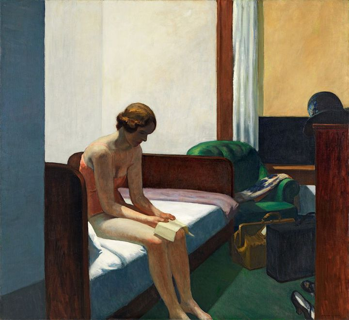 Edward Hopper, Hotel Room, 1931, Madrid, Museo Thyssen-Bornemisza  (Museo Thyssen-Bornemisza, Madrid)
