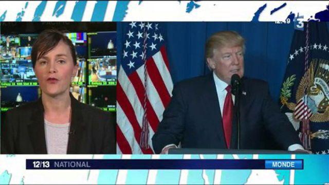 Syrie : la réaction de Donald Trump à l'attaque chimique du régime de Bachar Al-Assad