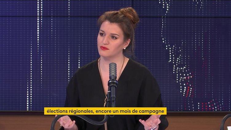 Marlène Schiappa, ministre déléguée à la Citoyenneté, était l'invitée de franceinfo mercredi 26 mai 2021. (FRANCEINFO / RADIO FRANCE)