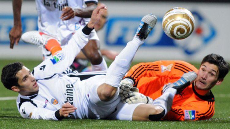 Le Lyonnais Yohann Gourcuff (FRANK PERRY / AFP)
