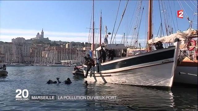 Marseille : grande opération de nettoyage au Vieux-Port de Marseille
