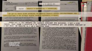 Enfants vendus du Sri Lanka: que savait l'ambassade de France ? (ENVOYÉ SPÉCIAL  / FRANCE 2)