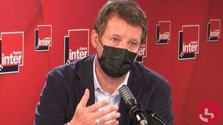 Yannick Jadot, député européen EELV, sur France Inter le 29 mars 2021. (FRANCEINTER / RADIOFRANCE)