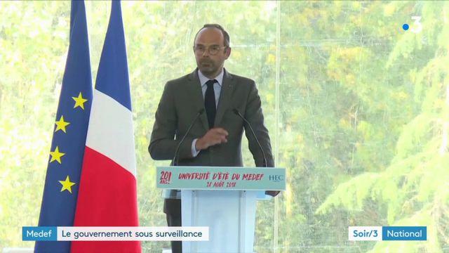 Medef : les patrons sont conquis par Edouard Philippe