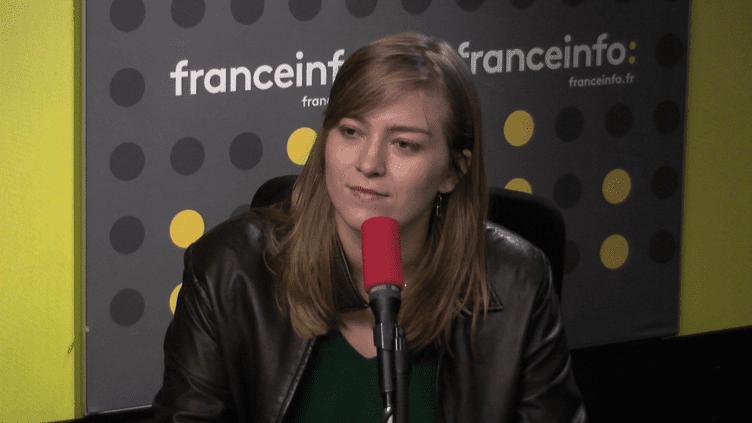 Raphaëlle Rémy-Leleu, porte-parole de l'associationOsez le féminisme, le 30 octobre 2017. (FRANCEINFO)