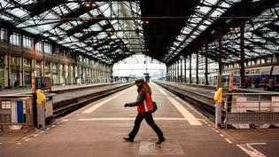 La gare de Lyon à Paris, le 22 mars 2018. (CHRISTOPHE SIMON / AFP)