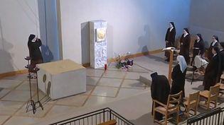 Des religieuses de Côte-d'Or ont ouvert les portes de leur carmel à France 3. (FRANCE 3)