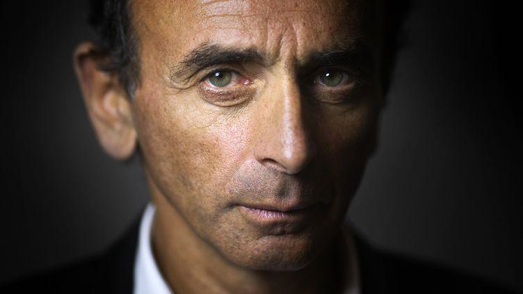 Le journaliste polémiste Eric Zemmour, à Paris, le 12 janvier 2015. (JOEL SAGET / AFP)