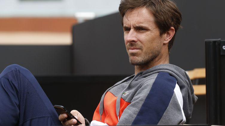 Edouard Roger-Vasselin, engagé en double à l'Open d'Australie, subit actuellement les restrictions sanitaires (ROMAIN BIARD / ROMAIN BIARD)