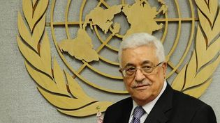 Mahmoud Abbas devant l'ONU (septembre 2011). (EMMANUEL DUNAND / AFP)