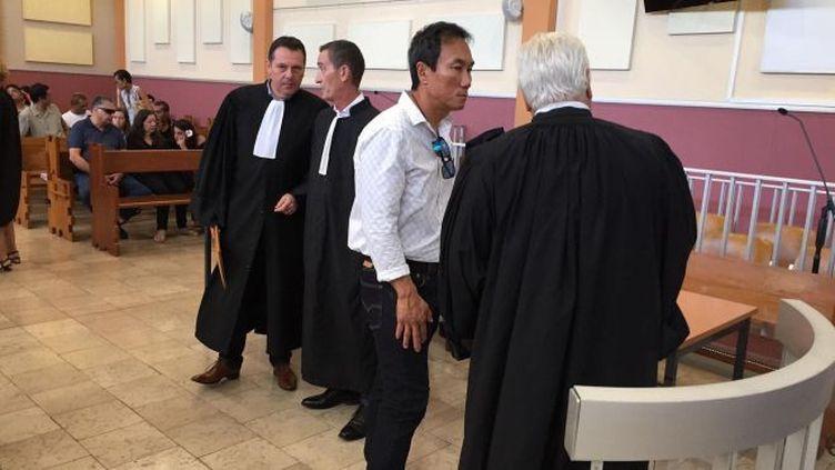 Six prévenus et la compagnie Air Mooera en tant que personne morale condamnés à de la prison ferme par le tribunal correctionnel de Papeete, presque 12ans après le crash d'Air Moorea. (POLYNESIE LA 1ERE / LUCILE GUICHET)