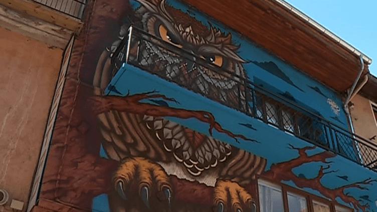 Un graff présent à Moûtiers  (France 3/ Culturebox)