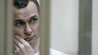 Oleg Sentsov, ici en 2015. (Illustration) (SERGEI VENYAVSKY / AFP)