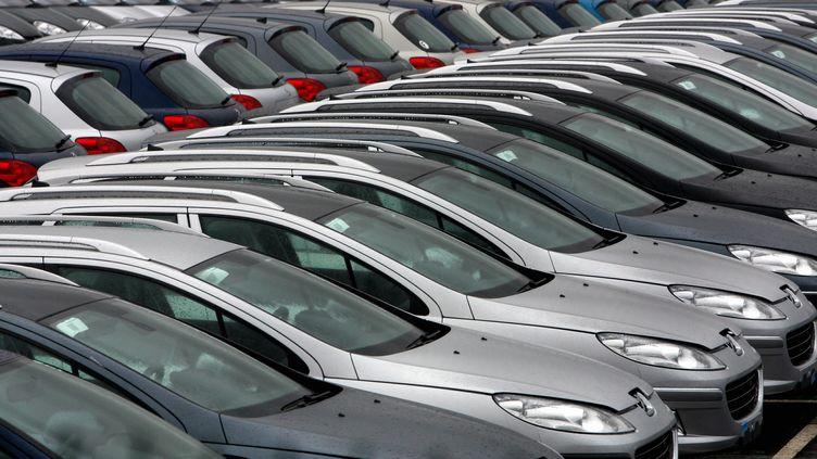 Le marché automobile français a progressé en France en 2019. (THIERRY BORDAS / MAXPPP)