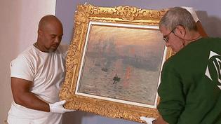 """Après le musée Marmoottan, le célèbre tableau de Claude Monet """"Impression Soleil levant"""" va rejoindre la ville du Havre où il a vu le jour en 1873  (France 3 / Culturebox )"""