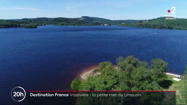 Le lac de Vassivière, un trésor du Limousin