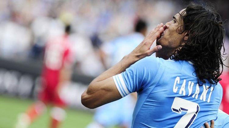 L'attaquant uruguayen Edison Cavani
