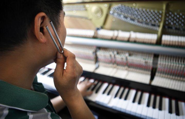 L'harmonie des sons contre l'anxiété et de la douleur  (Wan Xiang / XINHUA)
