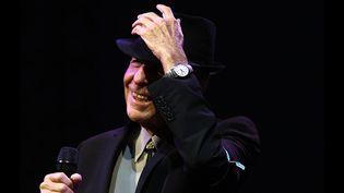 Leonard Cohen, 18 avril 2009  (Frazer Harrison / GETTY IMAGES NORTH AMERICA / AFP)