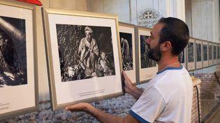 Le travail de Ferhat Bouda sur les Berbères marocains fait partie des 25 expositions proposées cette année.  (RAYMOND ROIG / AFP)