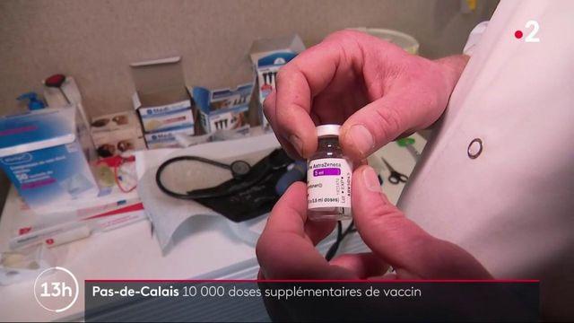 Covid-19 dans le Pas-de-Calais : 10 000 doses de vaccin supplémentaires
