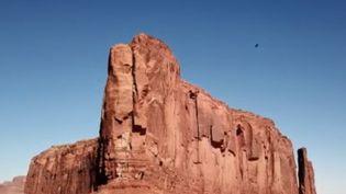 Pour le premier épisode de son feuilleton, France 2 s'est rendue entre l'Utah et l'Arizona, à la rencontre des Indiens Navajos. (France 2)