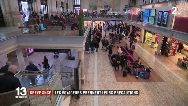 Grève SNCF : les voyageurs prennent leurs précautions
