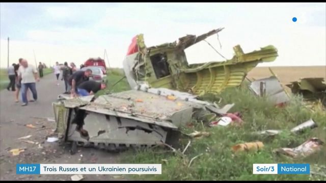 """Crash en Ukraine : """"La russie impliquée dans ce crime"""" jugée en 2020"""