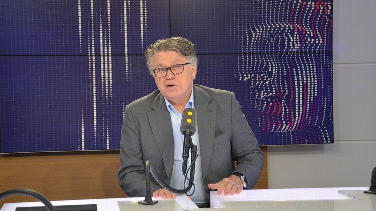 Gilbert Collard, le député Rassemblement national du Gard. (FRANCEINFO)