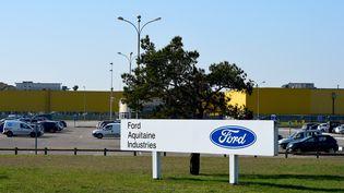 L'usine Ford de Blanquefort près de Bordeaux (Gironde). (NICOLAS TUCAT / AFP)