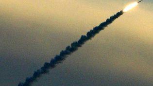 Un missile israélien lancé près de Tel-Aviv (Israël), le 5 janvier 2003. (SVEN NACKSTRAND / AFP)