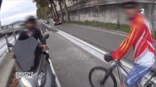 Envoyé spécial. Autos, motos, vélos : la guerre est déclarée (FRANCE 3 / FRANCETV INFO)