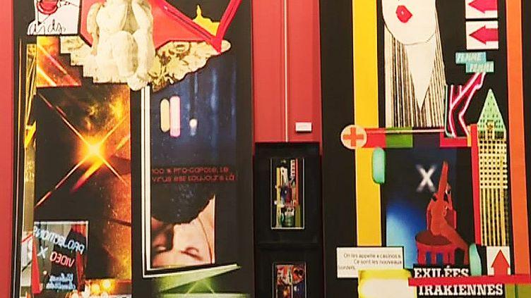 Les collages d'actualité de Nivèse  (France 3 / culturebox / capture d'écran)