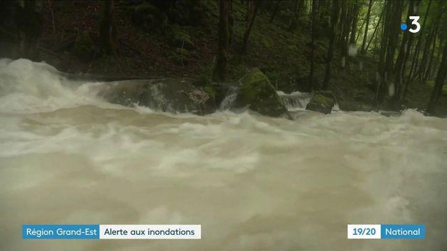 Grand-Est : de nombreuses inondations et des crues préoccupantes