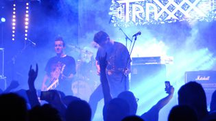 Le groupe algérien Traxxx au Festival Fest 213 le 7 novembre 2015  (AFP)