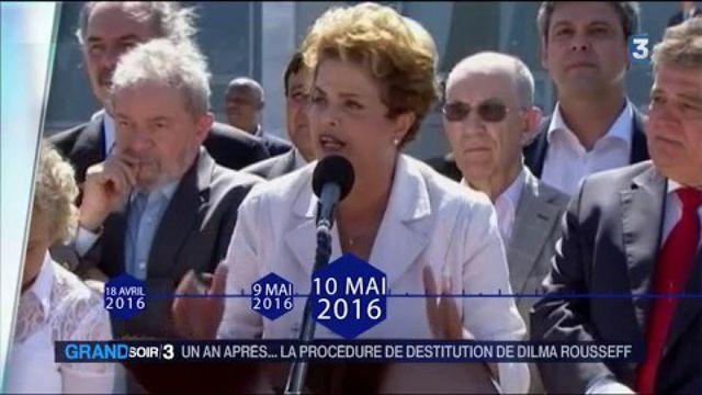 Brésil : un an après... la procédure de destitution de Dilma Rousseff