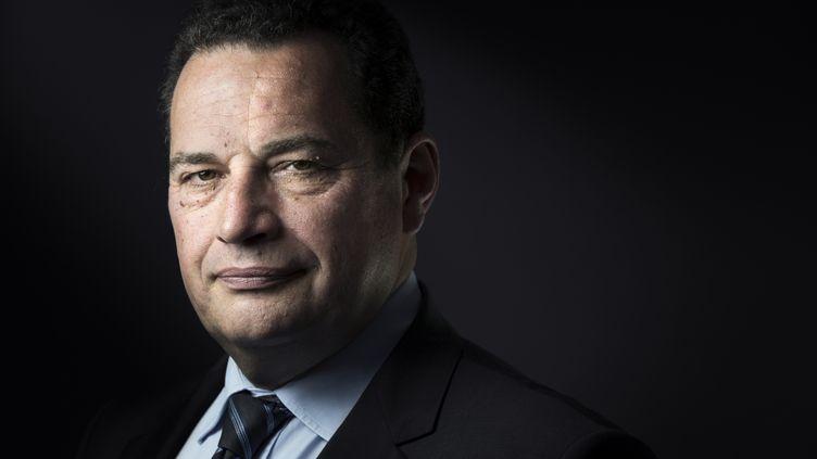 Le président du Parti chrétien-démocrate, candidat à la primaire à droite, Jean-Frédéric Poisson, le 24 mai 2016. (JOEL SAGET / AFP)