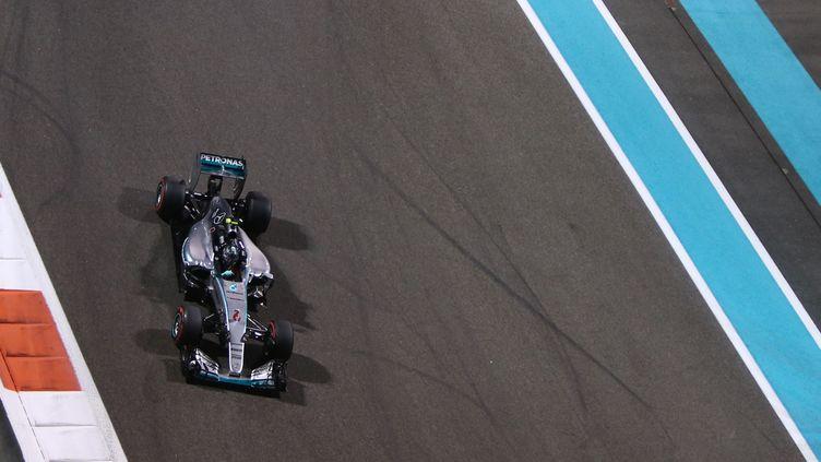 Nico Rosberg a devant son coéquipier  (MARWAN NAAMANI / AFP)