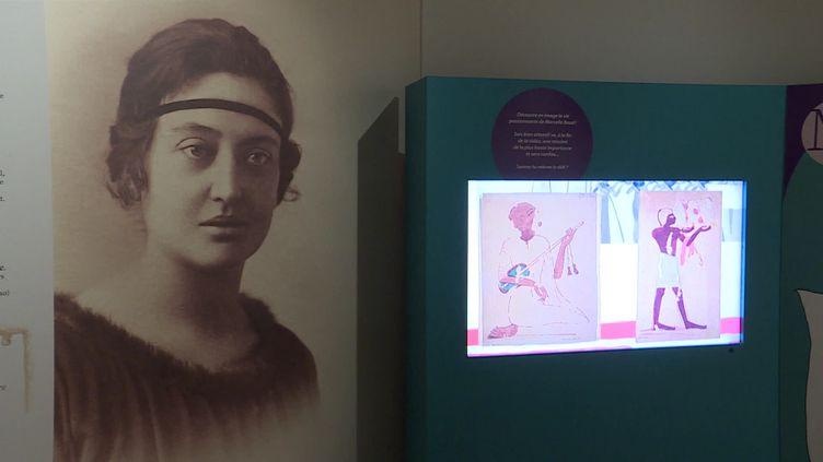 La vie et le travail de l'égyptologue Marcelle Baud sont à découvrir au musée Bargoin. (France 3 Auvergne)