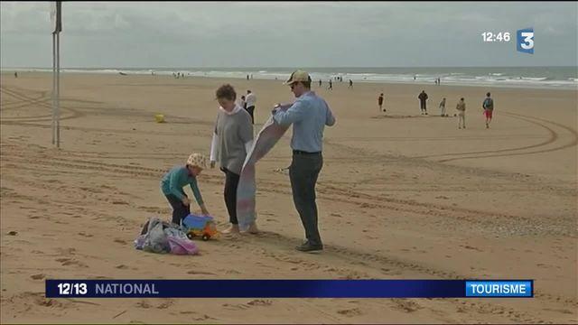 Vendée : mauvaise météo pour les premiers vacanciers