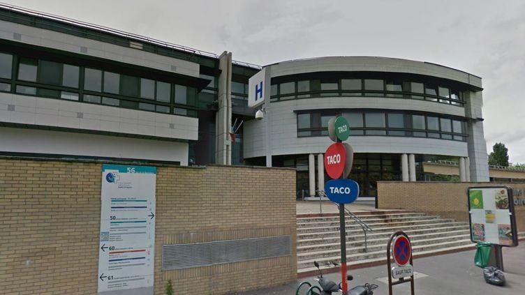 L'entrée du centre hospitalier de Montreuil (Seine-Saint-Denis). (GOOGLE STREETVIEW / FRANCETV INFO)