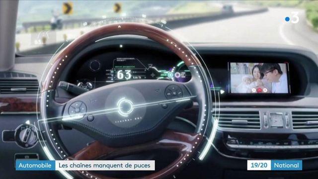 Automobile : une pénurie de puces électroniques met à l'arrêt des usines Renault