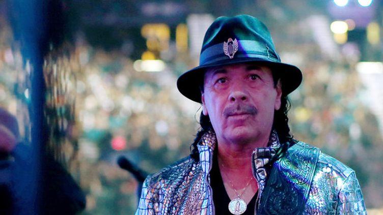 Carlos Santana le 20 novembre 2014 à Las Vegas.  (Christopher Polk / Getty Images / AFP )