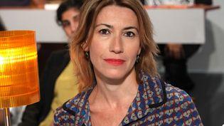 """Gwenaëlle Aubrydans l'émission """"Au Field de la nuit"""", le 13 septembre 2012. (SIPA)"""
