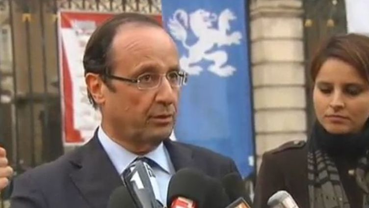 François Hollande à Lyon - vendredi 25 novembre (FTVi)