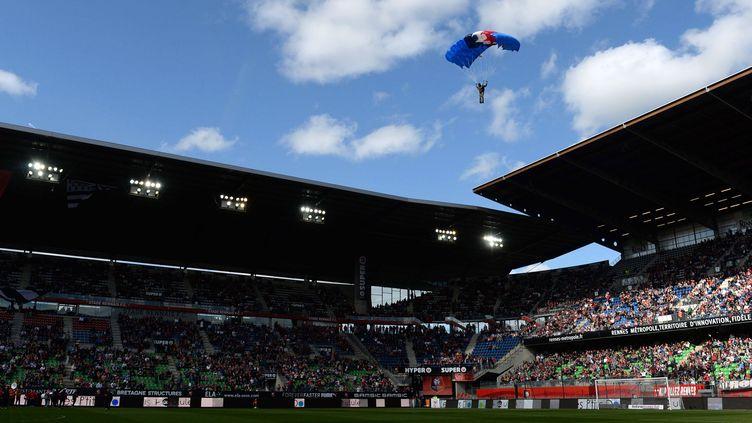 Le Stade de la Route de Lorient s'appelle désormais Roazhon Park (THOMAS BREGARDIS / AFP)