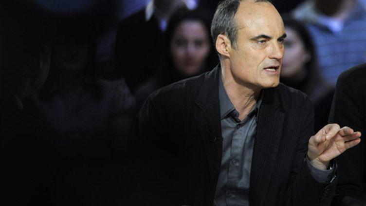 Philippe Val, directeur de France Inter (AFP/Stéphane de Sakutin)