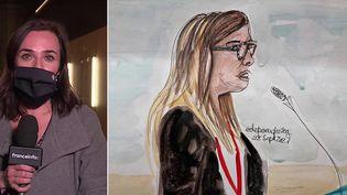 Le procès des attentats du 13-Novembre a commencé le 8 septembre 2021. Sophie Neumayer, journaliste à France Télévisions, suit ce procès pour Franceinfo. (CAPTURE ECRAN / FRANCEINFO)